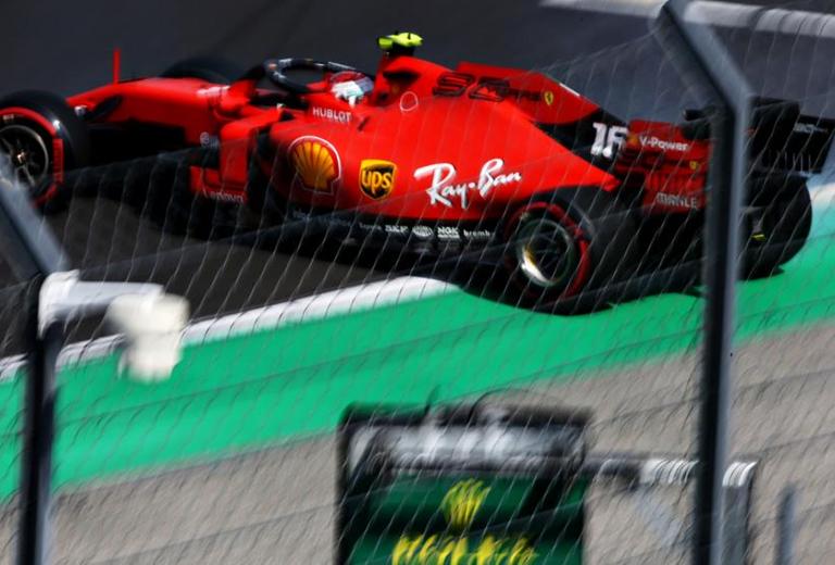 Leclerc. Calificación GP Hungría 2019