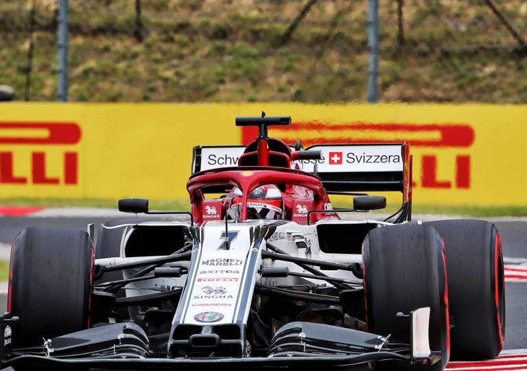 Raikkonen. Calificación GP Hungría 2019