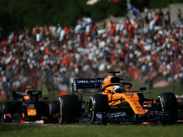 Sainz. GP Hungría 2019