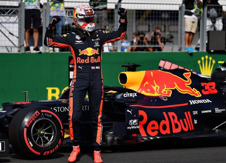 Verstappen logra la Pole. Calificación GP Hungría 2019