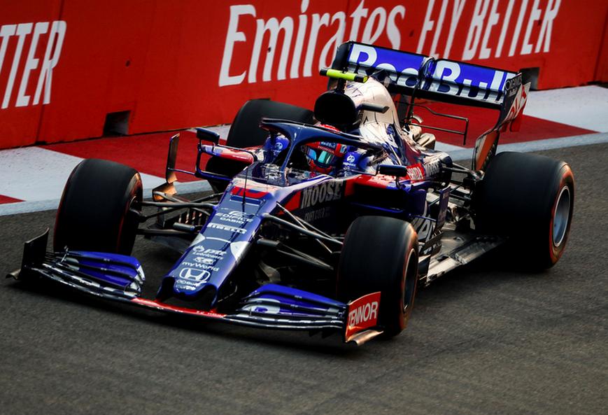 Gasly. Calificación GP Singapur 2019