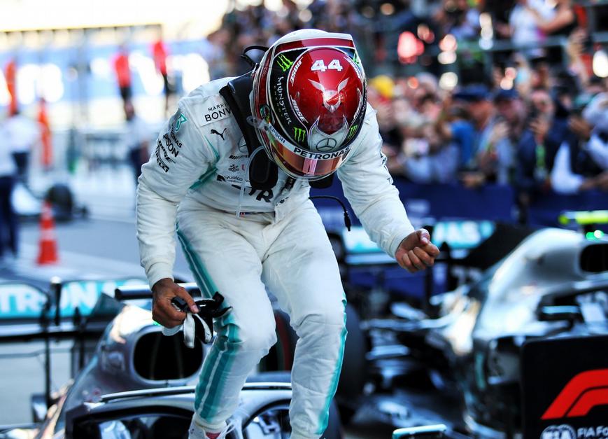 Hamilton logra la victoria. GP Rusia 2019