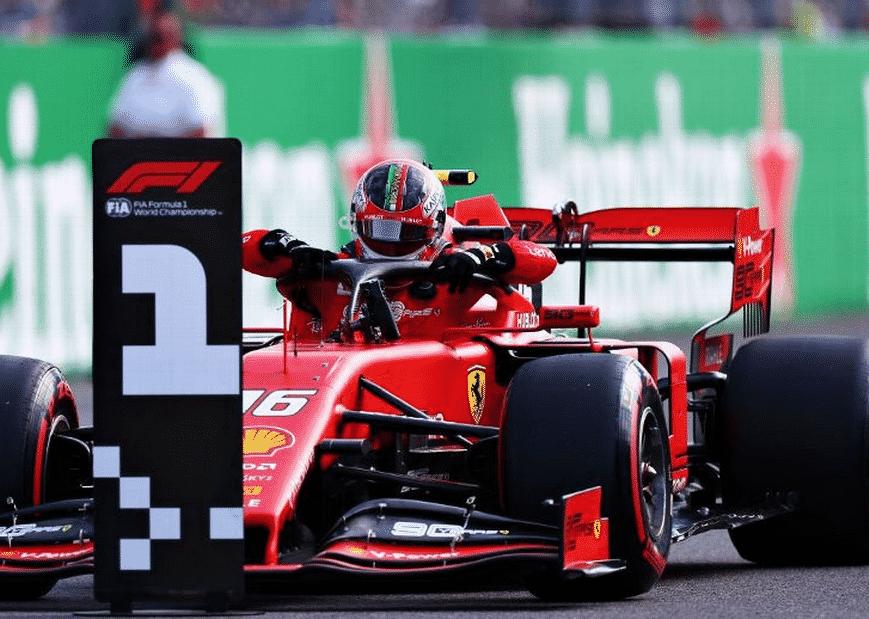 Leclerc logra la Pole. Calificación GP Italia 2019