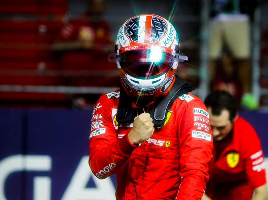 Leclerc logra la Pole. Calificación GP Singapur 2019