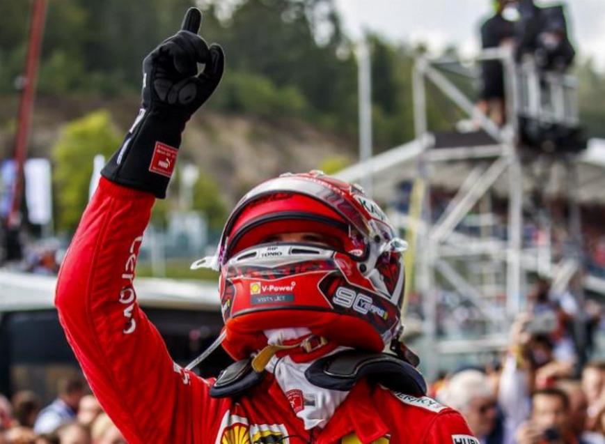 Leclerc logra la victoria. GP Bélgica 2019