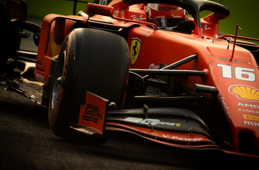 Leclerc. Calificación GP Singapur 2019