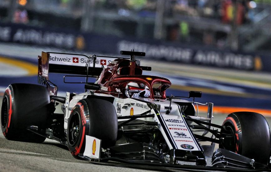 Raikkonen. Calificación GP Singapur 2019