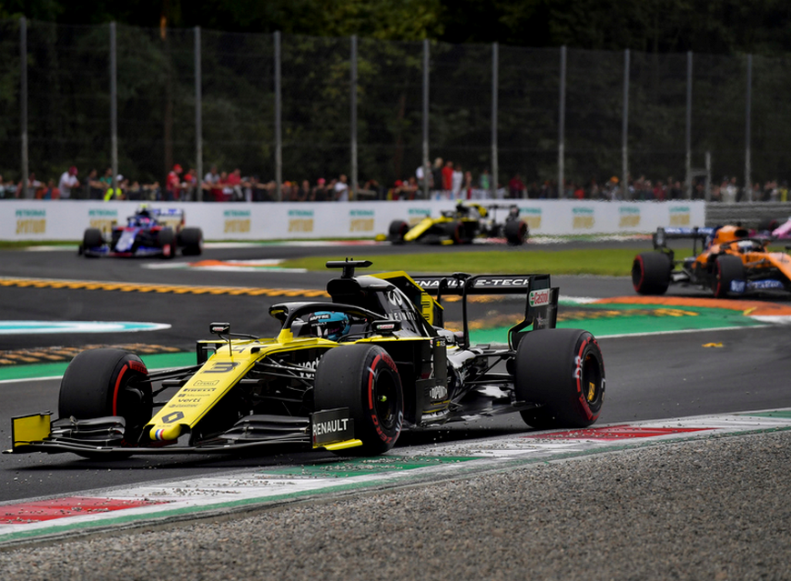 Ricciardo. Calificación GP Italia 2019