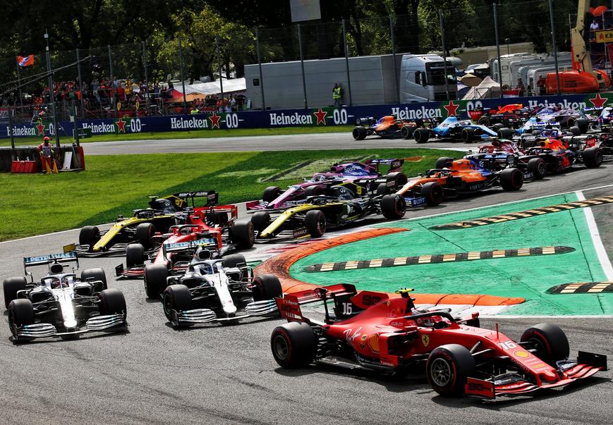 Salida GP Italia 2019