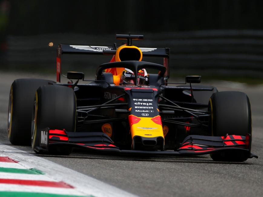 Verstappen. Calificación GP Italia 2019