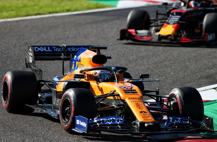Sainz. GP Japón 2019