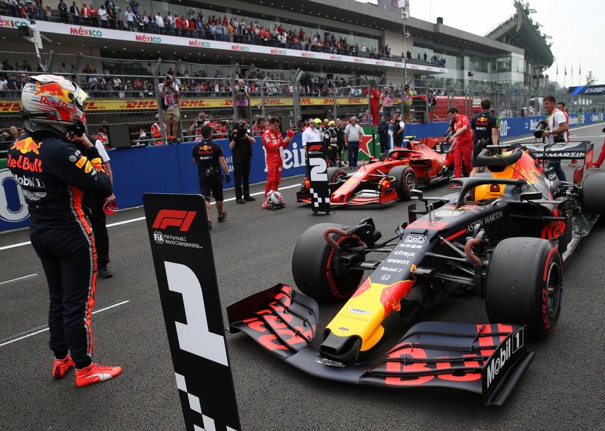 Verstappen logra la Pole. Calificación GP México 2019