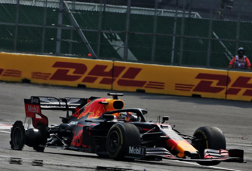 Verstappen. GP México 2019
