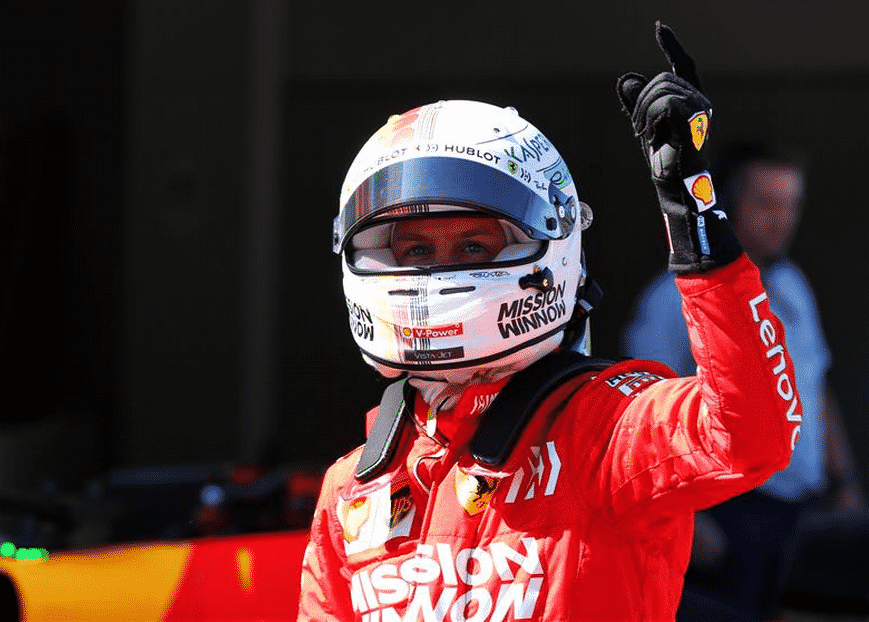 Vettel logra la Pole. Calificación GP Japón 2019