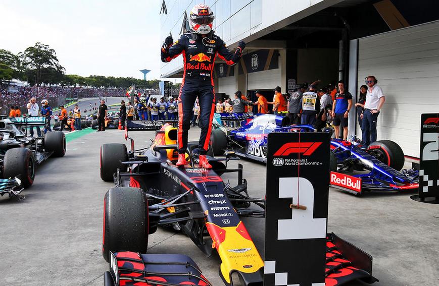 Verstappen logra la victoria. GP Brasil 2019