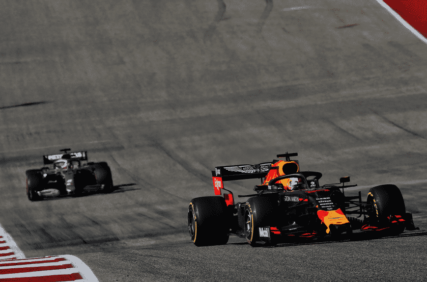 Verstappen. GP EE.UU. 2019