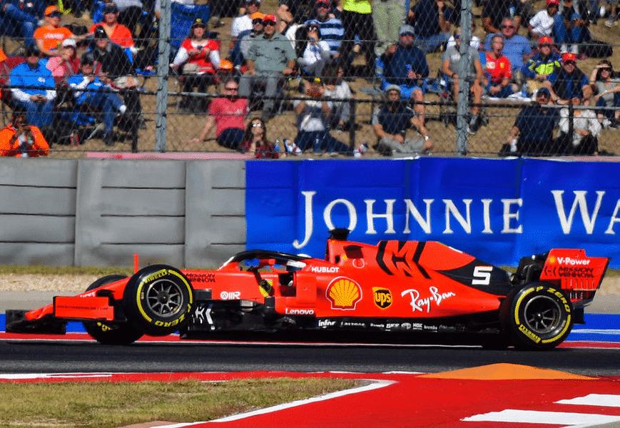 Vettel. GP EE.UU. 2019