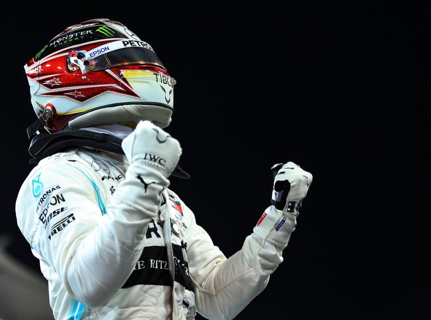 Hamilton logra la victoria. GP Abu Dabi 2019