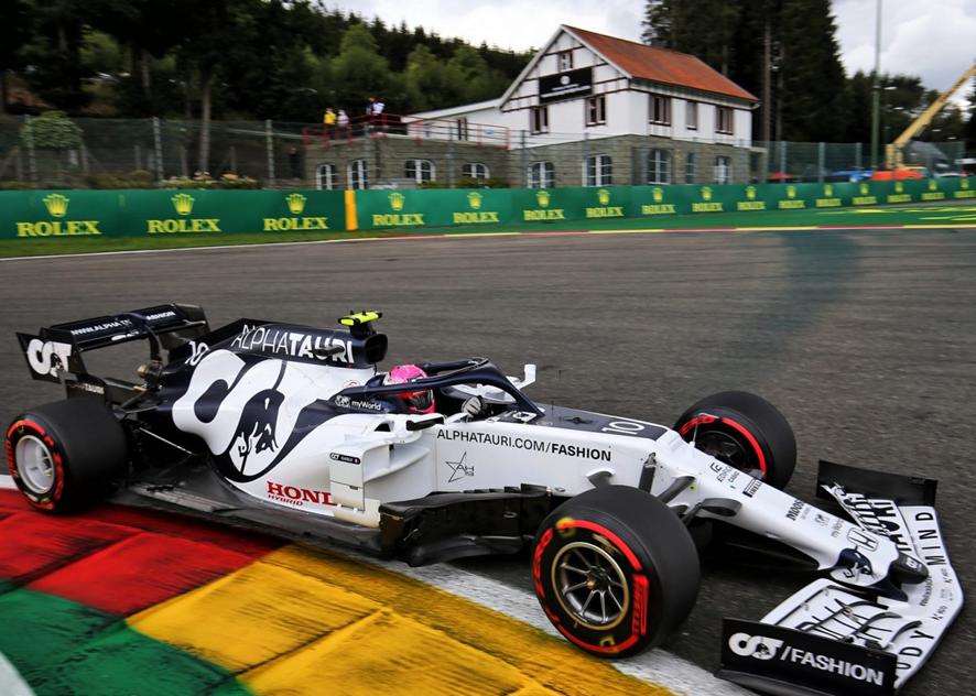 Gasly. Calificación GP Bélgica 2020